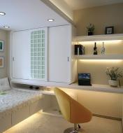 Luminaires-rubans à DEL blanc chaud ou blanc naturel