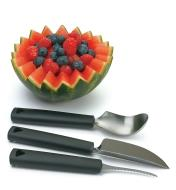 Triangle Three-Piece Fruit & Vegetable/Pumpkin-Carving Set