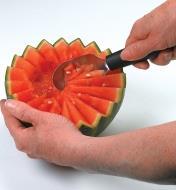 Outils de sculpture Triangle pour citrouille et autres fruits et légumes