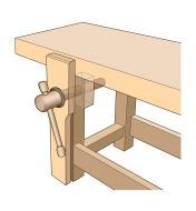 06G0210 - Wooden Leg Vise Kit
