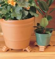 AC331 - Pot Feet, set of 3