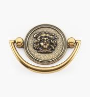 01A2095 - Poignée Directoire, fini bronze bruni, 4 po
