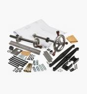 06G0172 - Vises w/Machined Wheels & Retro Crisscross
