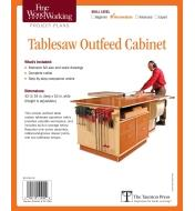 73L2504 - Tablesaw Outfeed Cabinet Plan
