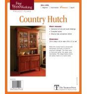 73L2505 - Country Hutch Plan