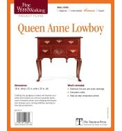 73L2512 - Queen Anne Lowboy Plan