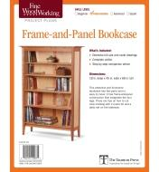 73L2529 - Frame-and-Panel Bookcase Plan