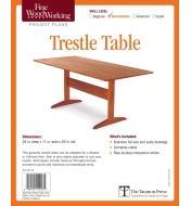 73L2532 - Trestle Table Plan