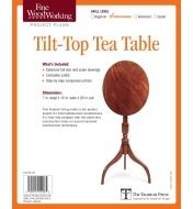 73L2541 - Tilt-Top Tea Table Plan