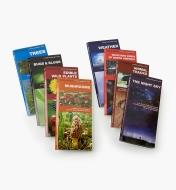 LA261 - Set of Eight Pocket Guides (Night Sky, Animal Tracks, Bkyd. Birds, Weather, Mushrooms, Edible Wild Plants, Bugs & Slugs, Trees)