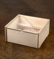 A Veritas router plane box shown fully assembled