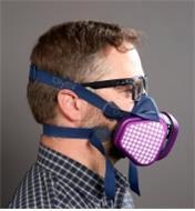 22R2061 - Small/Medium Low-Profile OV Respirator