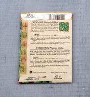 SD101 - Org Cucumber, SMR58 (Pickling)