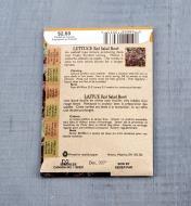SD102 - Laitue Red Salad Bowl bio