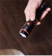 Magnet-Mount LED Task Light/Flashlight used as a handheld flashlight