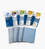 99W8099 - Set of 80 ProSand 3X Sandpaper Sheets (80x, 120x, 180x, 220x)