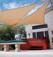 "BL616 - Coolaroo Premium 16'5"" Triangle Shade Sail"