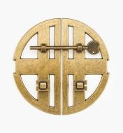 01X4315 - Twin Bow – 168mm Antique Brass Latch