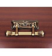 00U6115 - Poignées d'extrémité de cercueil claires, lapaire