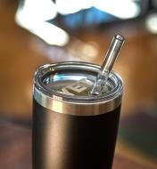 Straw Lid on a 20 oz Tumbler