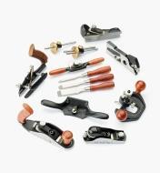 05P8270 - Ensemble complet de 10 outils miniatures Veritas