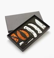 09A0306 - Composants pour couteau pliant à platine-verrou