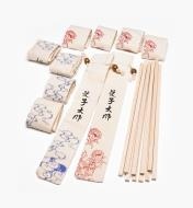 17N1608 - Bridge City Maple Chopstick Blanks (10 pr.) & Bags