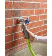 Flexzilla Swivel-Grip Hose connected to a faucet