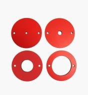95T2417 - Insert Rings for SawStop Router Lift, set of 4