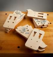 15K1105 - Lee Valley Clamp Racks, set of 3