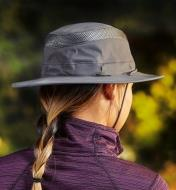 Back view of the classic travel hat