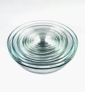 99W8213 - Duralex Glass Bowls, Set of 9