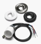 00U4353 - Color-Controlled (RGB) Mini Recessed LED Light Kit