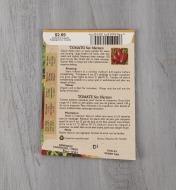 SD117 - Tomate San Marzano biologique
