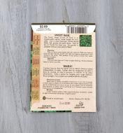 SD129 - Organic Sweet Basil