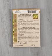 SD132 - Haricot jaune nain Golden Wax biologique