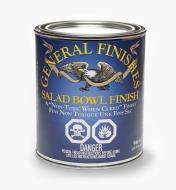 56Z1740 - General Wood Bowl Finish, 1 qt (946ml)