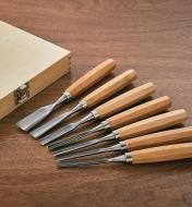 99W7664 - Jeu de 7 outils de sculpture