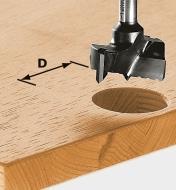 ZA491072 - Fraise pour tourillons HW diam. 20 mm