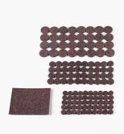 99W8716 - 123-Piece Set of Wool-Blend Furniture Pads