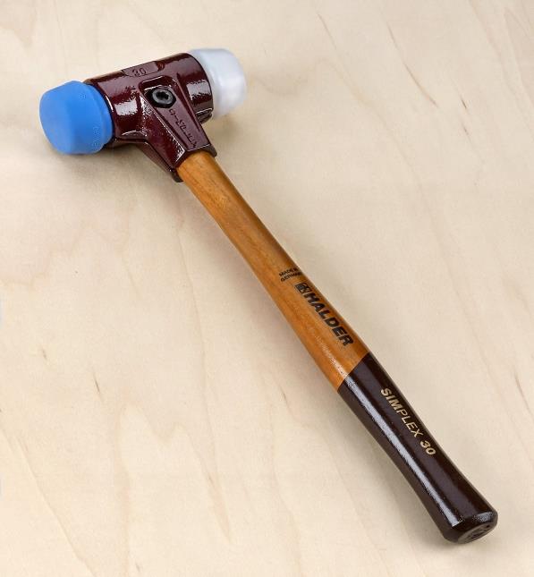 Halder Simplex Replaceable Face Mallet Lee Valley Tools Eastwood dead blow sledge hammer. halder simplex replaceable face mallet