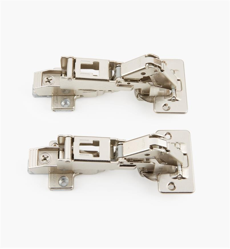 00B1570 - 170° Overlay Clip-Top Hinges, pr.