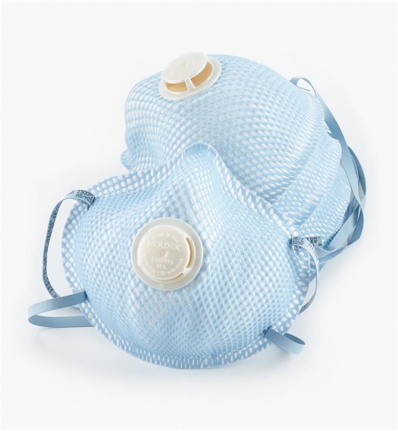22R3603 - Regular Anti-Fog Dust Masks, Locker of 5
