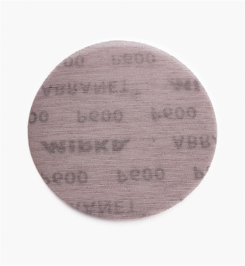 "55K9260 - 6"" Abranet 600x Sanding Disc, each"