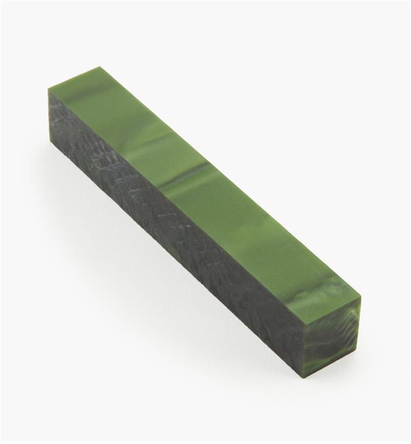 88K7892 - Deep Green Acrylic Acetate Blank, each