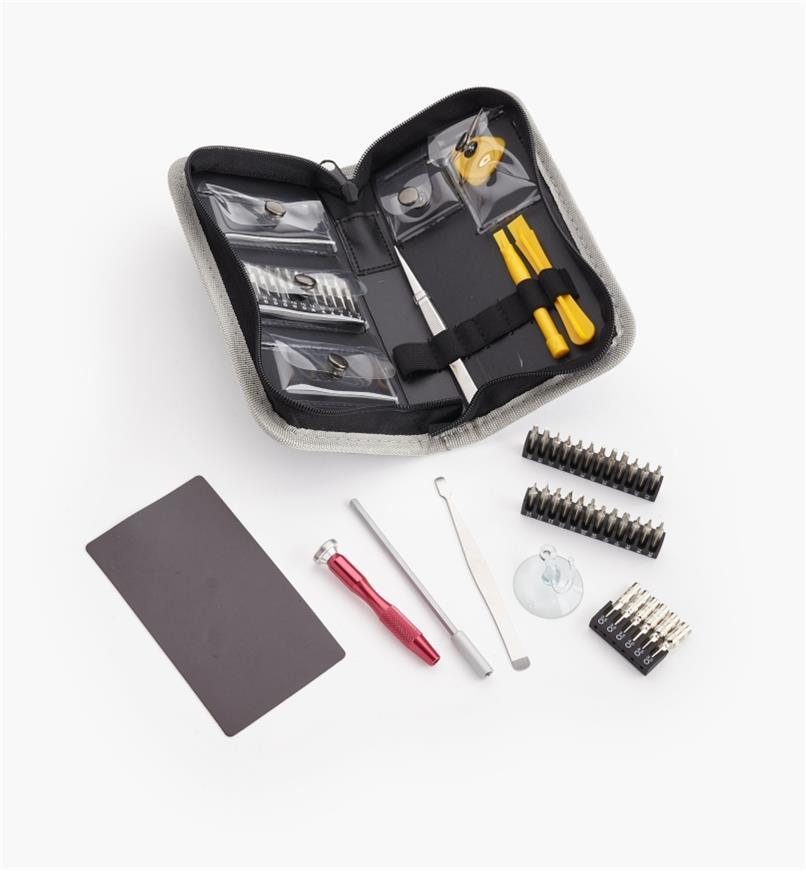 99W7667 - Trousse de 51 outils pour appareils électroniques