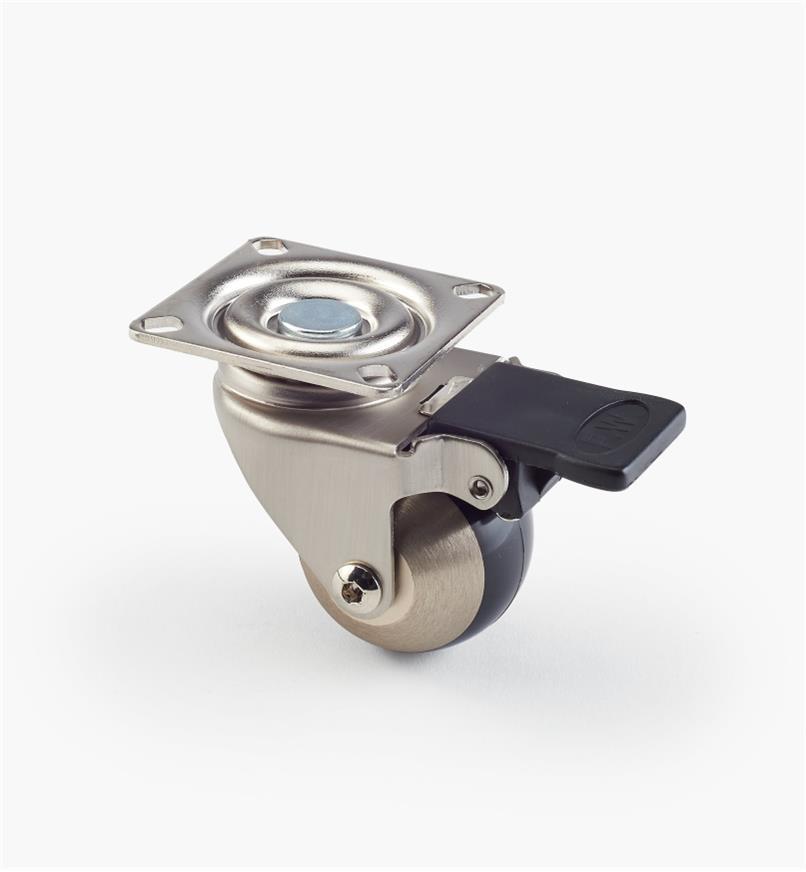 00K2630 - Roulette sphérique en aluminium et en acier, l'unité