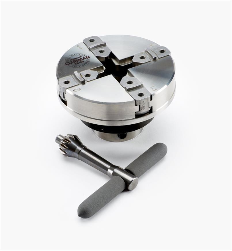 58B4018 - Axminster SK100 Chuck, M33 x 3.5