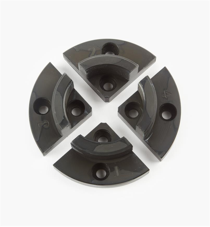 "58B4043 - Axminster Gripper Jaws, 53mm (2 1/16"")"