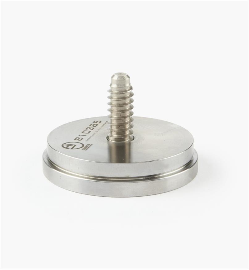 "58B4081 - Axminster Screw Chuck, 69mm (2 11/16"") C Jaws"